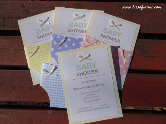 diaper baby shower invitations